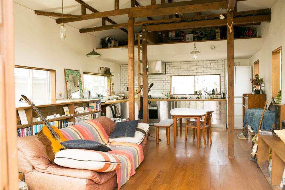 開放的な間取りで愛猫にも心地よい武蔵野の家①  築50年の戸建てをフルリノベーション