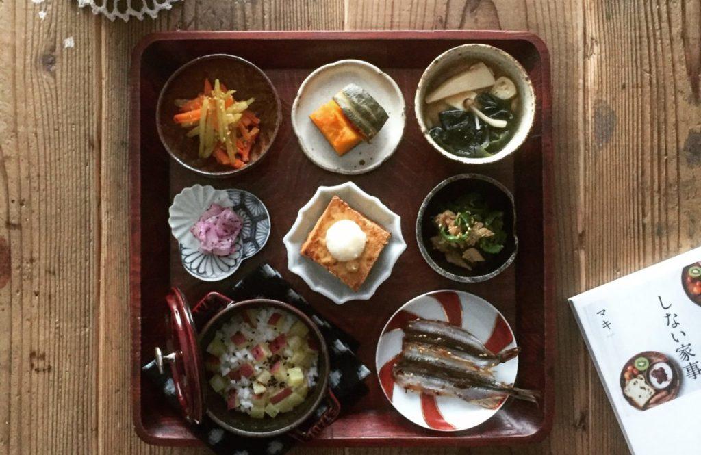 炊き込みごはんは【御膳盛り付け】で料亭風の華やかな食卓に!