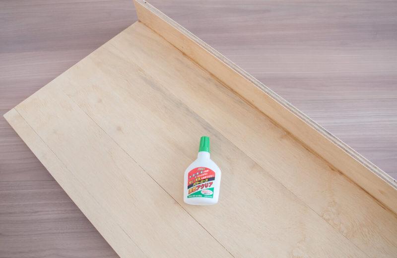 木材と木工用ボンド