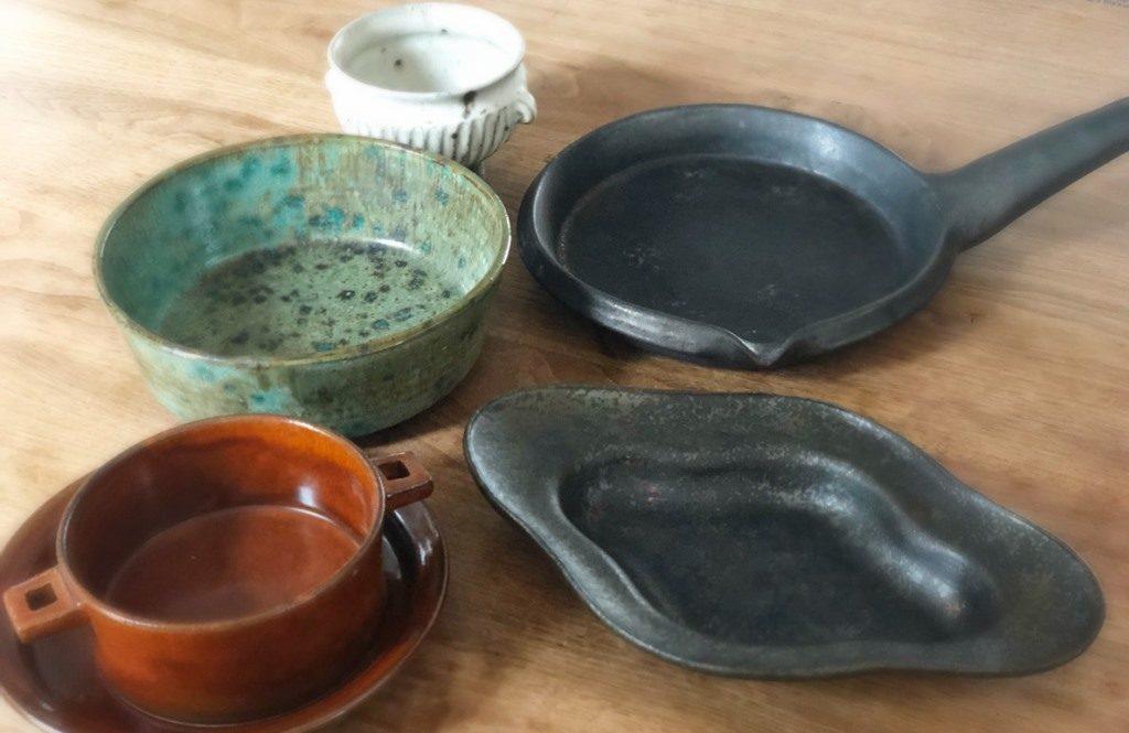 そのまま食卓で様になる【陶芸作家のオーブン皿】が器好きにちょっとしたブーム