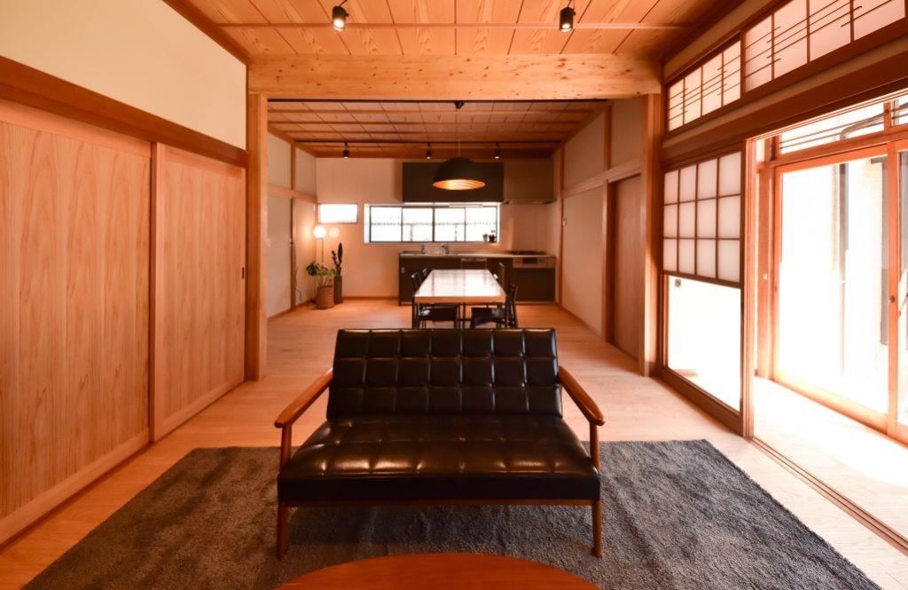 築40年以上の古民家再生 日本家屋の良さを残す温故知新リノベ