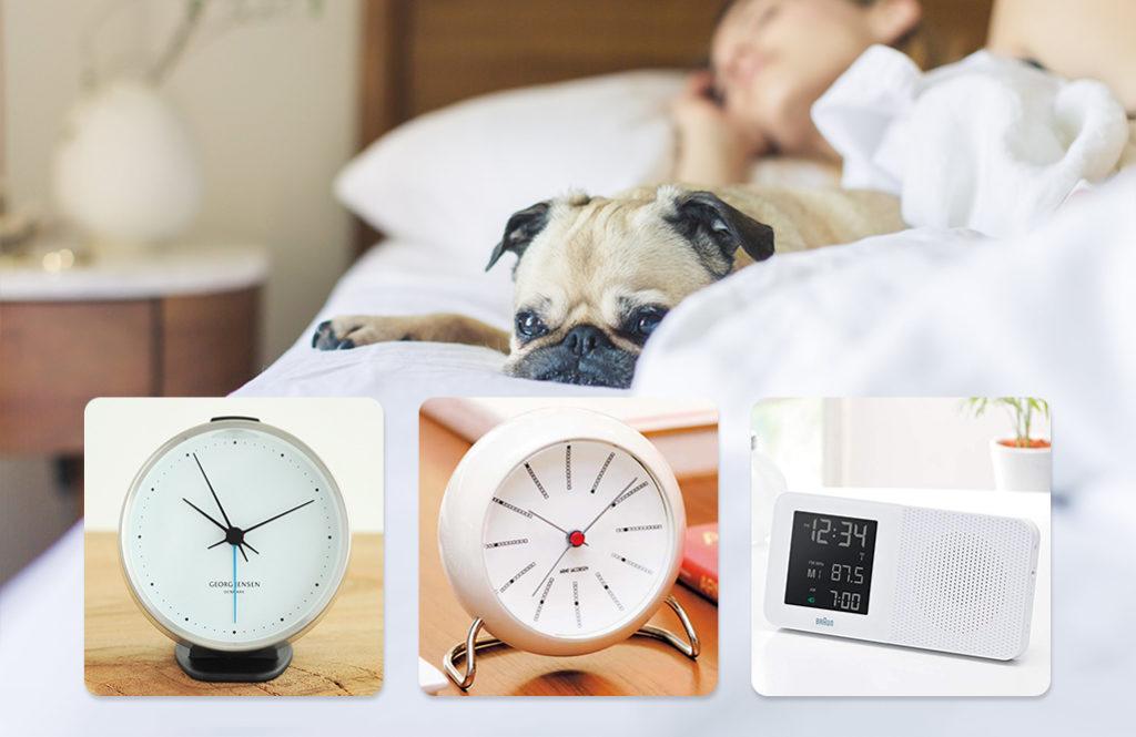 インテリアスタイリストから学ぶ「寝室の理想的な目覚まし時計」の条件
