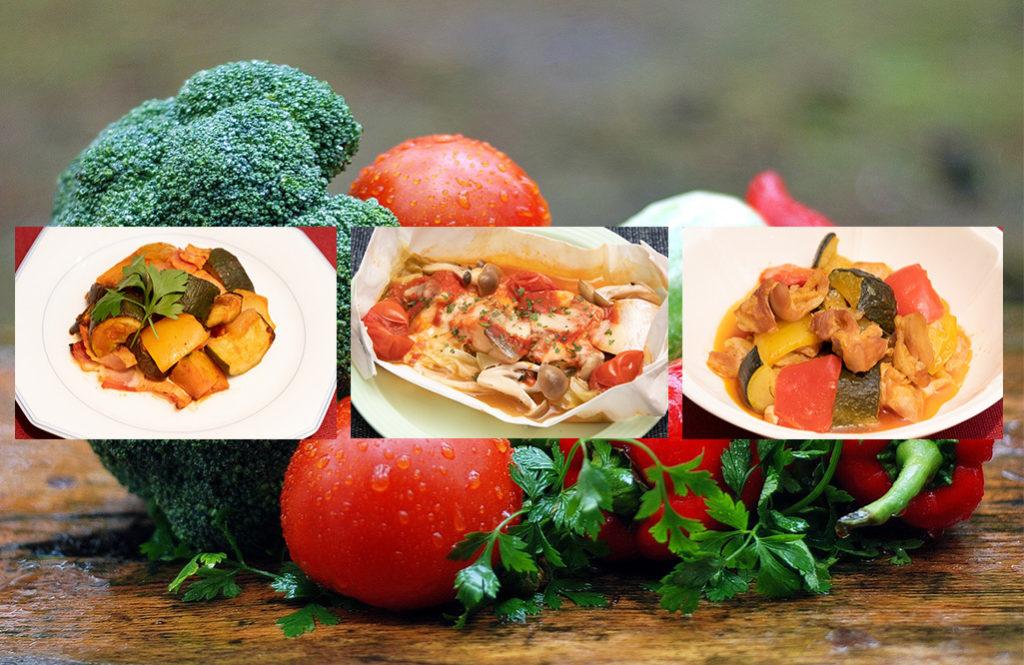 セミナーで覚えた「トマトソースの時短レシピ」で夏野菜がおいしい!