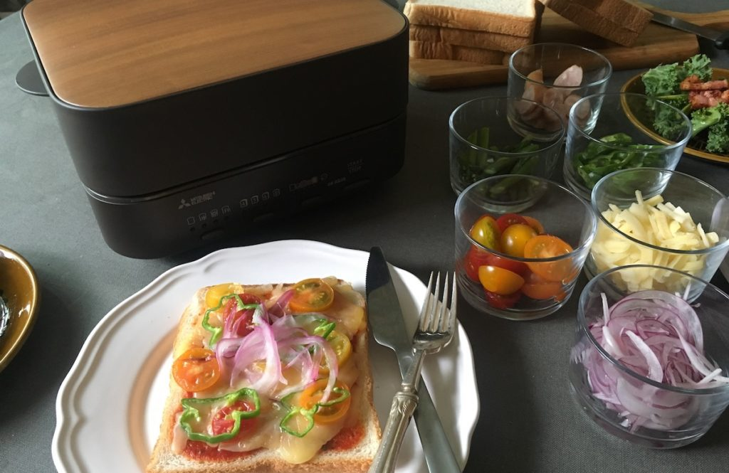冷凍してた「乃が美」の食パンを【三菱ブレッドオーブン】でふわふわ生トースト体験!