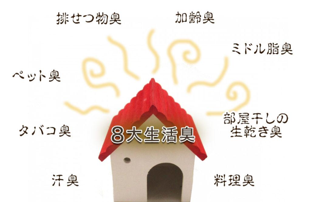 8大生活臭を除去! 「除菌脱臭機」に注目が集まる理由
