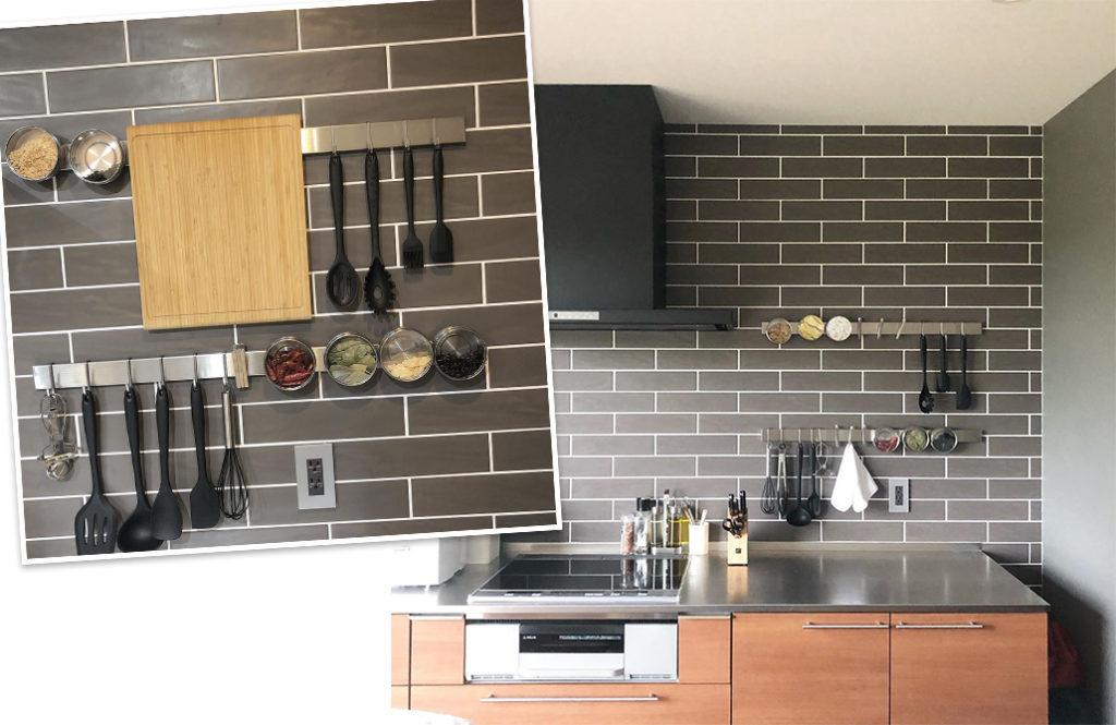 キッチンがすっきり使いやすい「お洒落なスパイスラック」5つのお手本