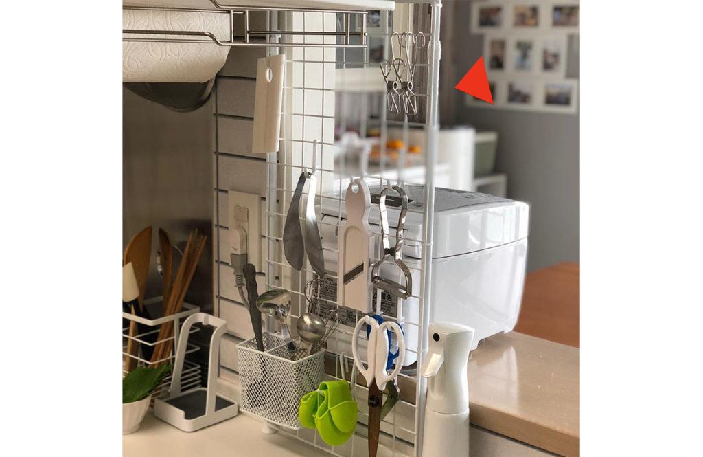 手っ取り早いDIY!「突っ張り棒でキッチン整理」みんなの工夫