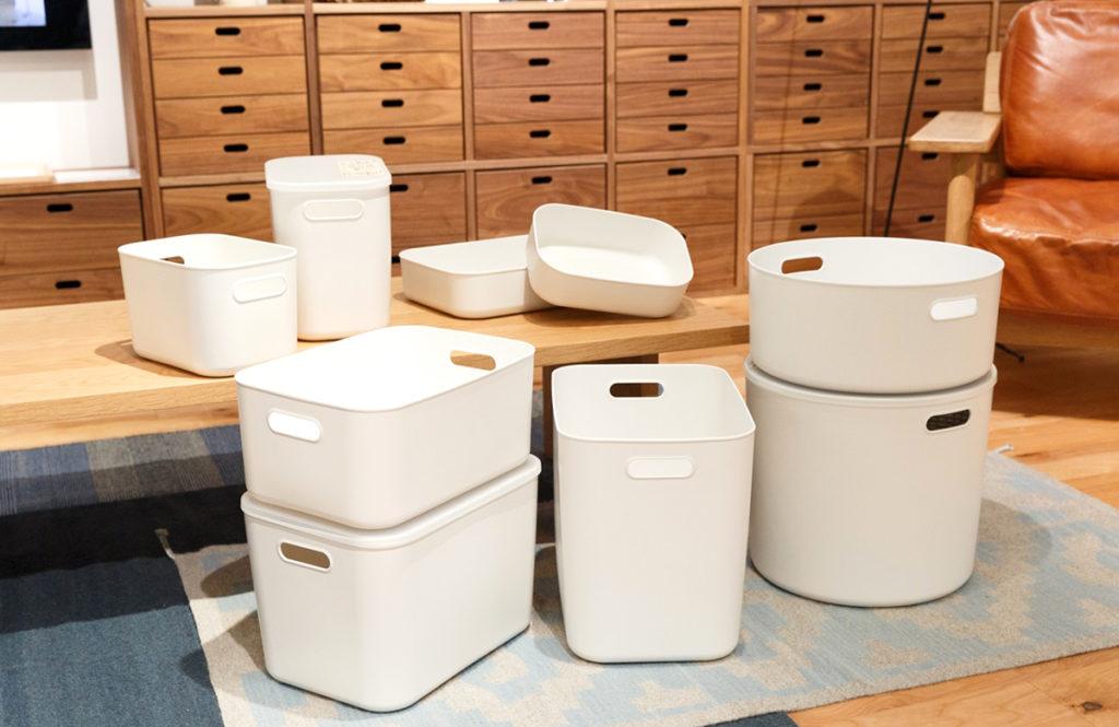 家中の収納に使える!無印良品の大人気「やわらかポリエチレンケース」活用術