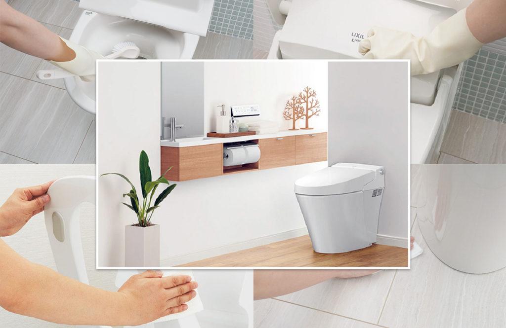 リクシルに教わる効率トイレ掃除「毎日掃除する場所と週1、月1でいいところ」