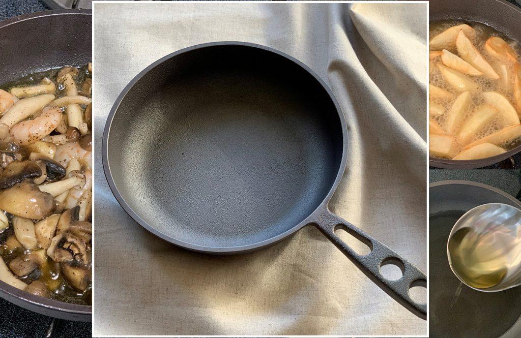 鉄製だけど女性でも使える!噂の「おもいのフライパン」で料理してみました