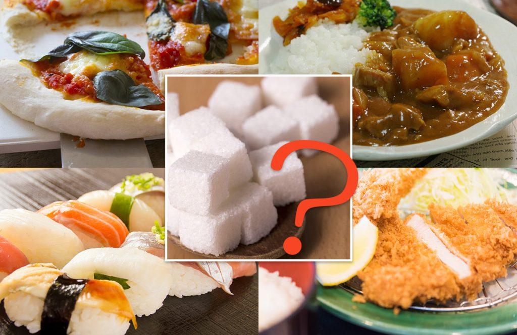 太ると思いつつ、つい食べてしまう「あの食べ物の糖質」は角砂糖何個分?